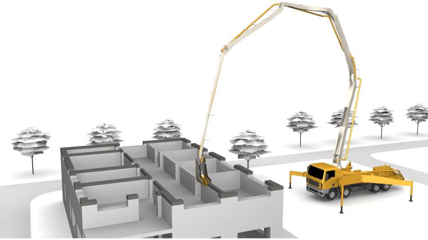 Beton-3D-Druck im Hausbau