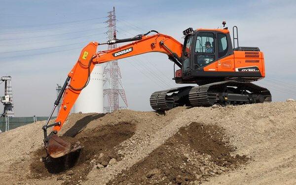 Die neuen High-Track Bagger von Doosan Bobcat